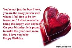 Birthday Wishes For Boyfriend - Page 3