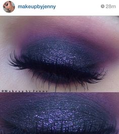 Colour Pop Cosmetics eyeshadow in Envy.  House of Lashes Noir Fairy lashes.