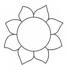 Resultado de imagem para flower template