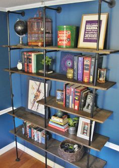 industrial shelves - maybe for the garage