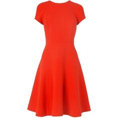 L.K. Bennett Eugenia Skirted Dress (355 CAD) found on Polyvore