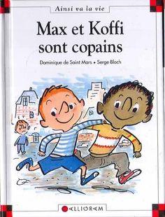 LIVRE MAX ET LILI  N° 24 Max et Koffi sont copains  Saint Mars Bloch