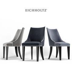 3D Model Dining Chair Bermuda Eichholtz - 3D Model