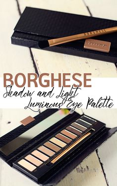 Borghese Eclissare Color Eclipse Shadow and Light Luminous Eye Palette Swatches