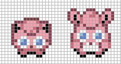sandylandya@outlook.es  Mini: Jigglypuff, Wigglytuff by *Hama-Girl on deviantART