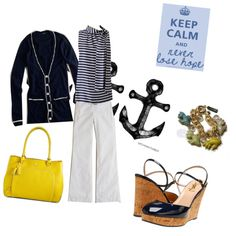 Perfect nautical look