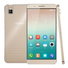 SUNSKY - Huawei Honor 7i / ATH-AL00 5.2 inch EMUI 3.1 Smart Phone, Qualcomm Snapdragon 616 Octa Core 1.5GHz+1.2GHz, ROM: 32GB, RAM: 3GB, Support GPS, GSM & WCDMA & FDD-LTE(Gold)