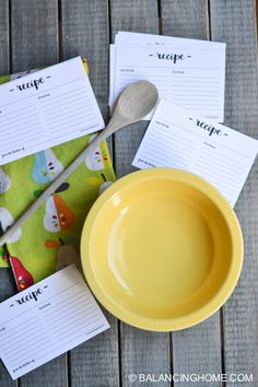 I whipped up a cute little recipe card box that I will be sharing on Tatertots & Jello in August. Obviously, the next logical step is to make darling, chic little recipe cards to go with it. I love that these recipe cards have a hand lettering feel. These are laid out 3 to a...Read More
