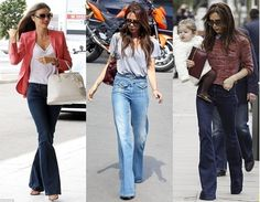 Heyya..!  2015 is all about a '70s denims. That's right flare jeans are back.