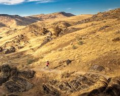 Rave Runs Boise Hills, Idaho The undulating terrain of the Shingle Creek Trail forces runners to slow down as they take in the desert landsc...