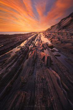 Gaviota Coastline north of Santa Barbara CA by Michael Shainblum [641960] #reddit