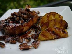 http://www.agirlandherfood.com/2012/07/maple-glazed-pork-chops-pecans-green.html