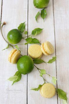 Lemon macaroons / macarons