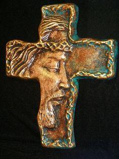 Large Cross Jesus Christ Religious Crucifix Wall Decor Christian Bible Faith Art | eBay