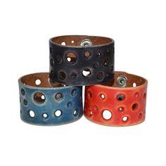 Wide Leather Bracelet / Leather Cuff Bracelet Leather Wrap