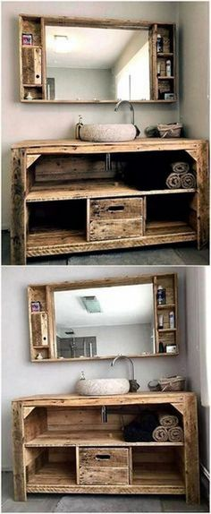 EASY AND SMART WAYS TO MAKE WOOD PALLET FURNITURE IDEAS