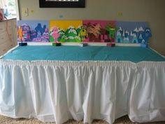 Yo Gabba Gabba food table display