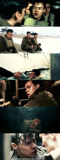 Harry's name on Dunkirk is Alex just so you all know