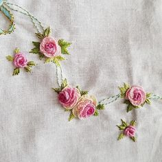 Embroidered Roses, Embroidery Suits, Instagram Posts, Up, Needlepoint