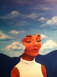 head in the clouds| black art