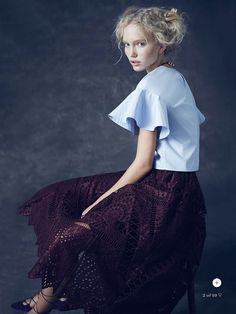 the new romantic: kim mclane by nicole bentley for marie claire australia november 2014 (via Bloglovin.com )