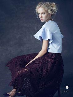 the new romantic: kim mclane by nicole bentley for marie claire australia november 2014 (via Bloglovin.com )