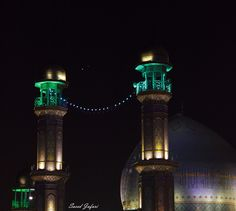 A close encounter between Venus and Jupiter, with the Rasulullah Mosque in Tehran, Iran, in the foreground.  http://www.space.com/29838-venus-jupiter-ramadan-skywatcher-photos.html