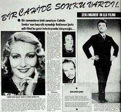 1953 Turkish Film Awaited Song with Zeki Müren, Cahide Sonku, Bedia Muvahhit....