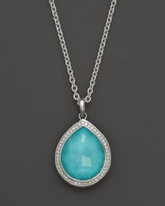 turquoisediamond necklace - Google Search