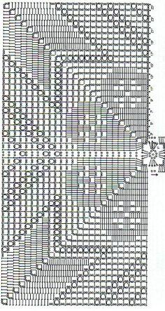 Solo esquemas y diseños de crochet: cubrecamas