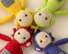 Screenies crochet pattern amigurumi inspired by CrochetbyMajken