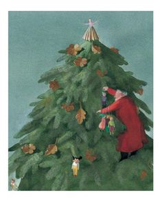 The Night Before Christmas, illustrated by lisbeth zwerger