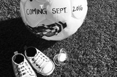 Sydney Leroux & Dom Dwyer's baby announcement...looks like America's getting another awesome footballer!