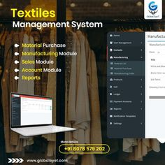 Textile ERP Software Development in Kerala. We are the best ERP developers for textiles can develop ERP software for the textile industry, Finance ERP development, technical textiles ERP development services. Technical Textiles, Promote Your Business, Software Development, Finance, Management, Textile Industry, Kerala, Banner, Good Things