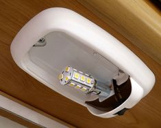 """LED lights for lower power consumption.  This is an LED """"bulb"""" that replaces the #1141 type bulb in the standard RV light fixtures."""