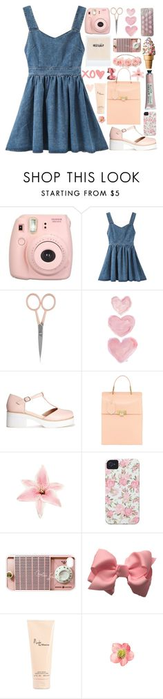 """""""PRETTY & PINK!"""" by annaclaraalvez ❤ liked on Polyvore featuring Anastasia Beverly Hills, Shabby Chic, ASOS, Balenciaga, Clips, Case-Mate, Samsung and Victoria's Secret"""