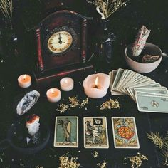 witchcraft witch witches witchy tarot cards spells occult esoteric magical magic wicca mysterious dark fall autumn vibes Smith-Waite Centennial mini Deck divination reading halloween all hallows eve samhain october crystals candles Wiccan, Witchcraft, Images Esthétiques, Yennefer Of Vengerberg, Baby Witch, Witch Aesthetic, Witch Decor, Coven, Book Of Shadows