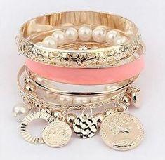 Free Shipping Bangle Bracelets Multilayered Bracelets-Bracelets-Women Fashion Bracelets