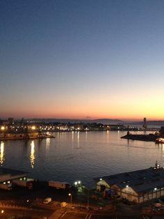 Mi ciudad amaneciendo... LA CORUÑA, Galicia, España. Spain.