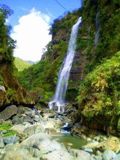 Bomod-ok Falls in Sagada, Philippines