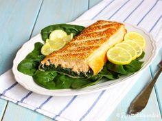 Strudel di Salmone e Spinaci Una delizia ad occhi aperti per la cena! http://bit.ly/strudel-salmone-e-spinaci