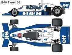 1978 tyrrell 08