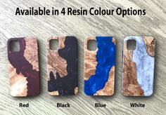 Create Phone Case, Wood Resin, Real Wood, Perfect Fit, Iphone Cases, Blue And White, Plate, Samsung, Shop