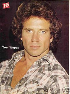 Ah, Tom Wopat, my very first famous crush! First poster ever on my wall! Always a sucker for those blue blue eyes!