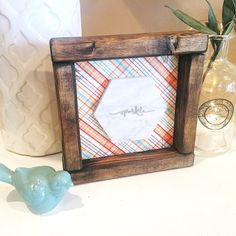Wooden Sign Shelf Sitter, 'Sparkle'. Free Shipping!