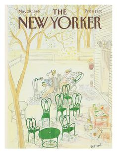 Sempé - The New Yorker cover, 1985