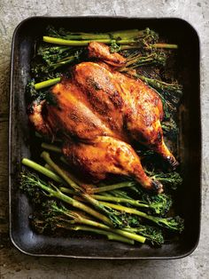 Sticky Miso And Sesame Roasted Chicken | Donna Hay