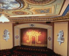 CENTRAL CITY OPERA HOUSE INTERIOR