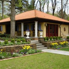 Terraced Front Yards Design Ideas Pictures Remodel And Decor Page 20 Tropical