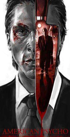 Horror Movie Art : American Psycho 2000 by Robert Bruno Classic Horror, Movie Artwork, Film Art, Movie Posters Design, Horror Movie Posters, Horror Movie Art, American Psycho, Horror, Movie Poster Art